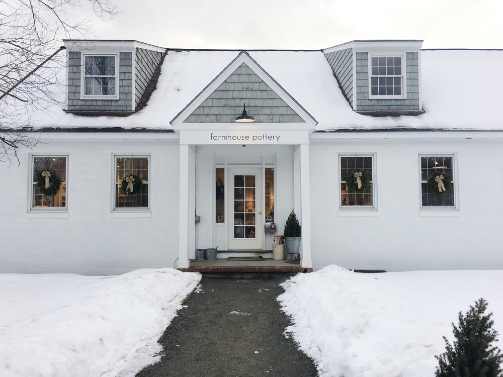Storefront: Welcome to Farmhouse's dream home. Photo: The Romanticist Studios