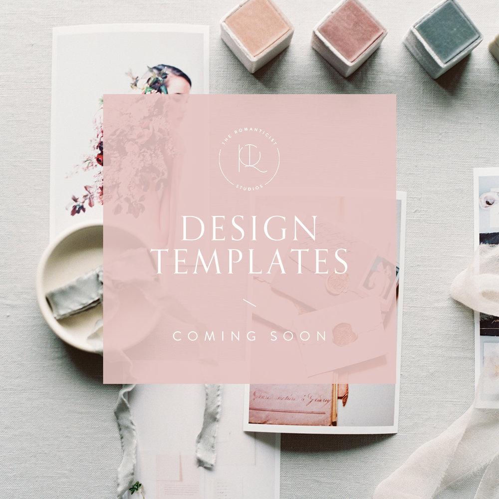 Get my photoshoot design templates here - The Romanticist Studios