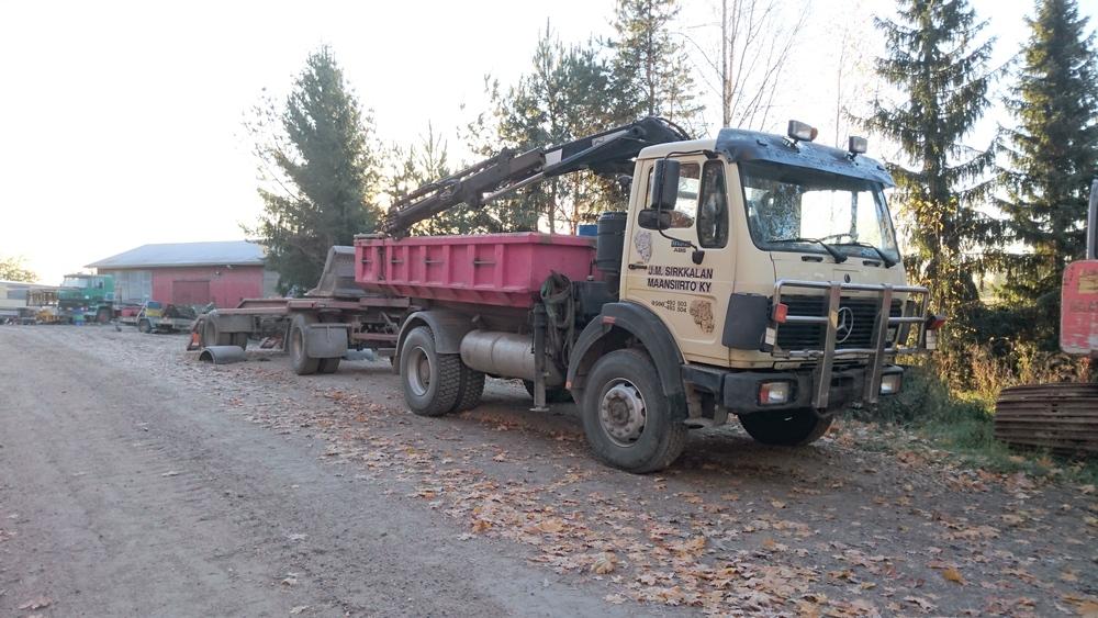 Kuljetuslavetti MB 1622 4x4