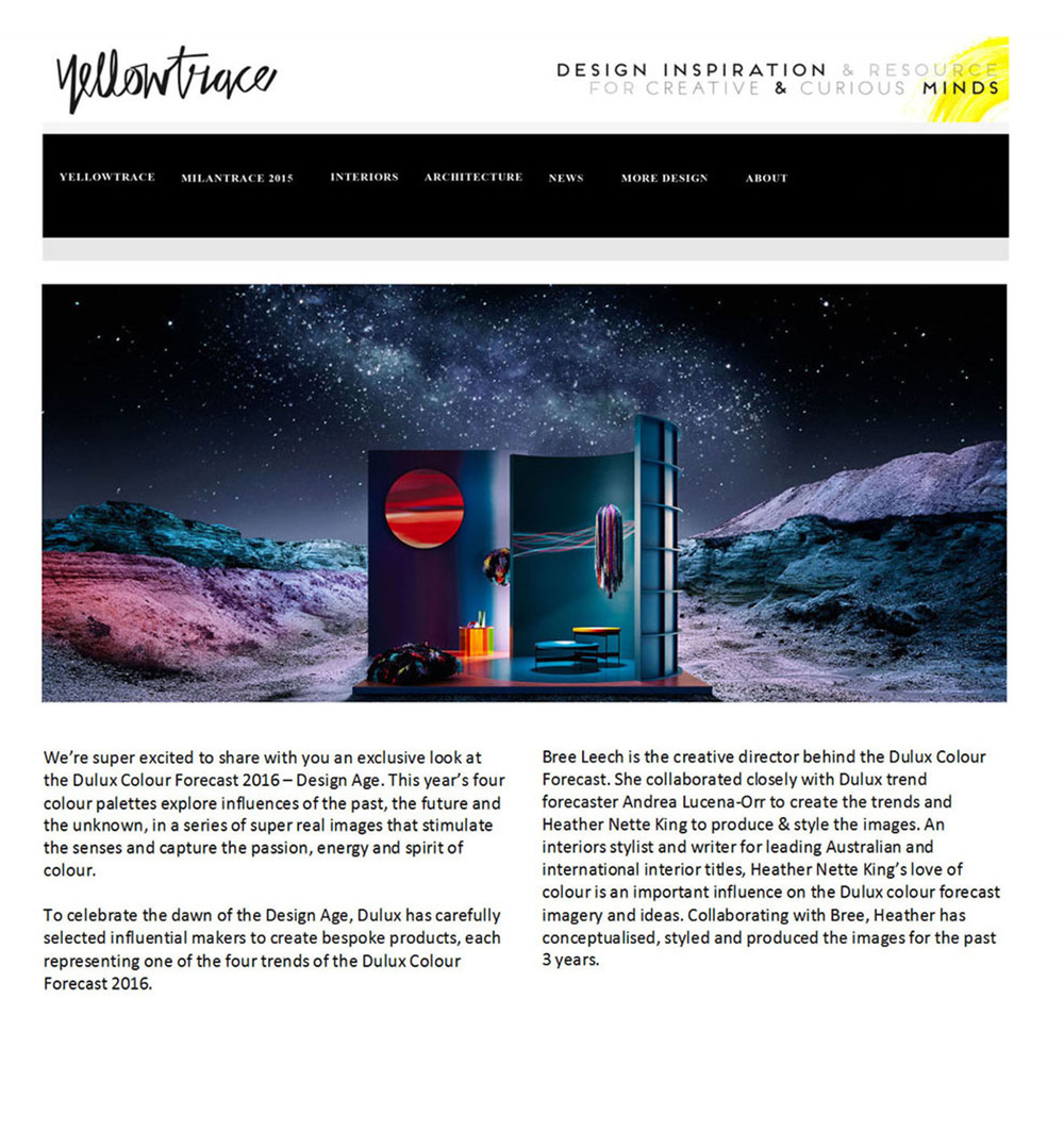 Yellowtrace - July 2015
