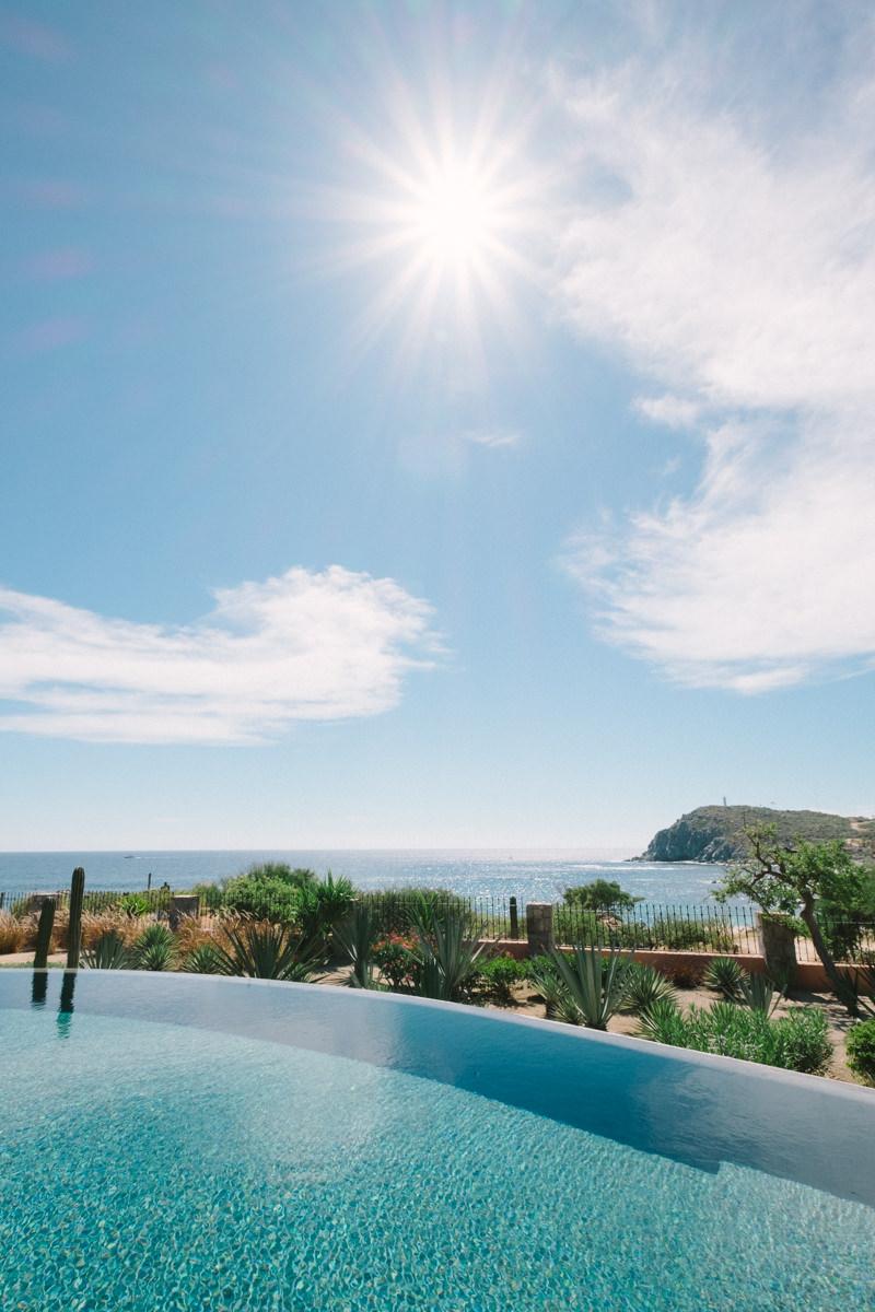 Poolside at Villa Vista Ballena