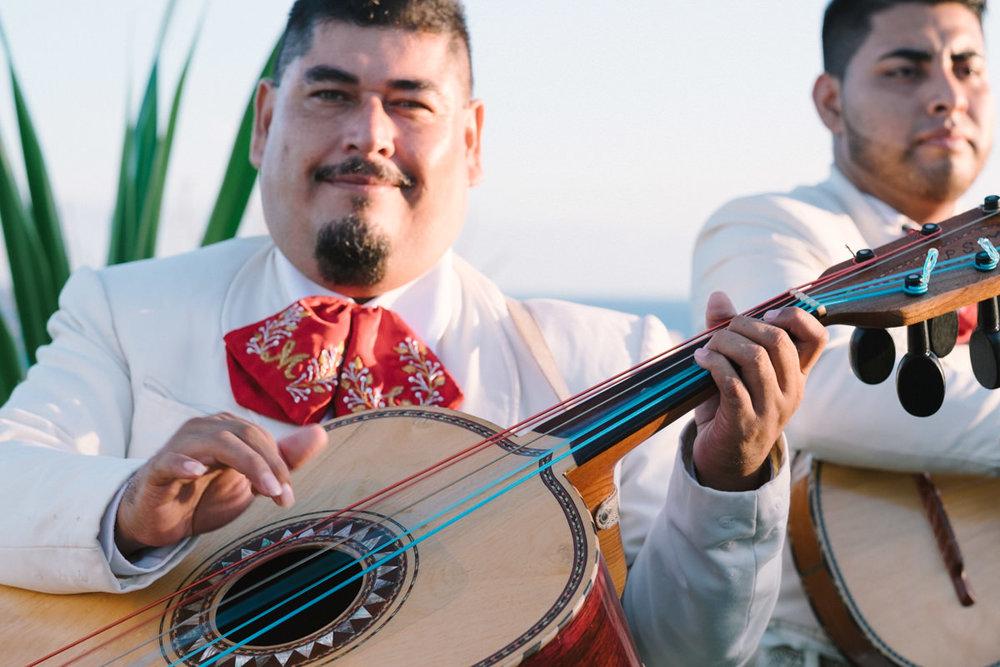 Mariachi Band at Villa Vista Ballena