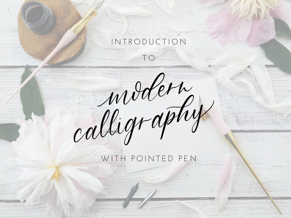 pointed-pen-calligraphy-class