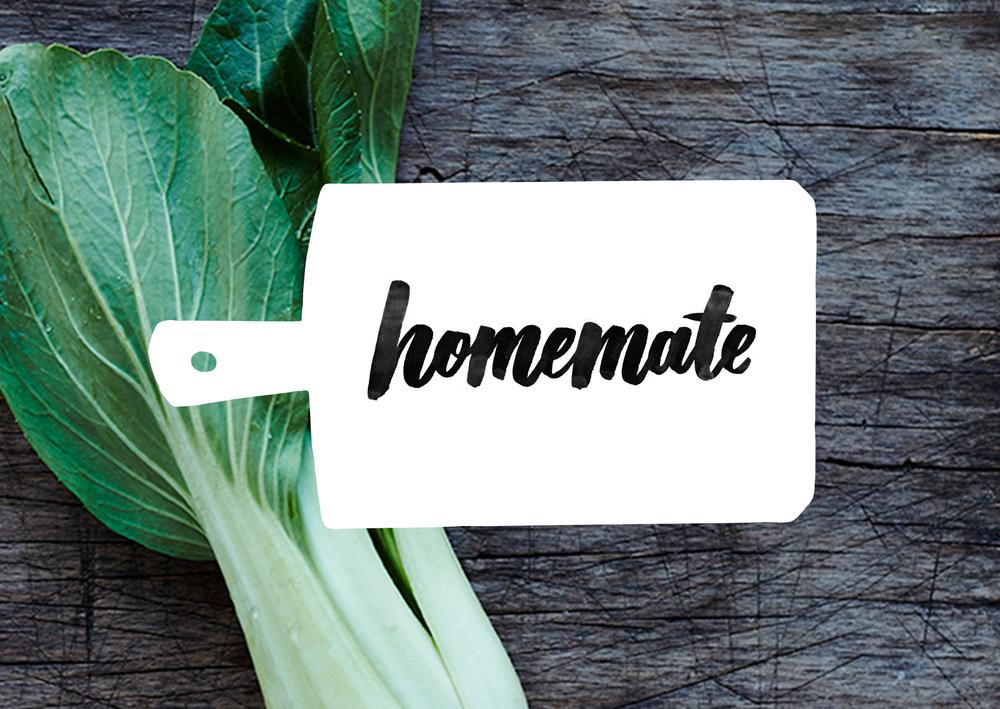 HOMEMATE - Brand name & identity