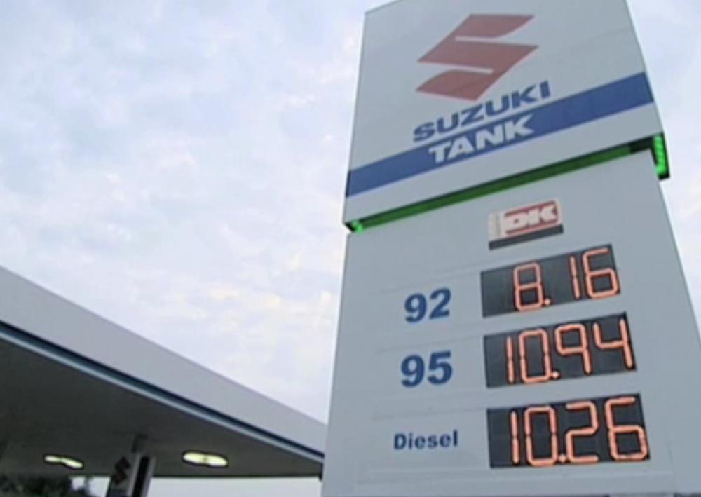 SUZUKI - Gas Station
