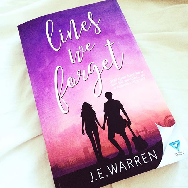 Day 4: Published work - this baby right here! Never thought I'd ever hold my own book in my hands but it happened. Amazing feeling ☺️ #writewemay #writerslife #bookstagram #bookcover #linesweforget #published #authorsofinstagram #books #may #inspiration #dream #romance