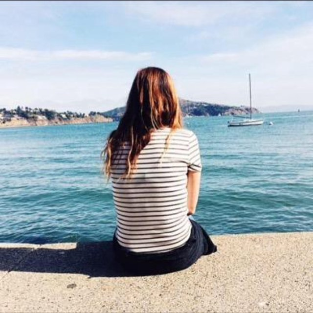 "Day 5: First Author Photo - I believe it's this one, of me admiring the view from Sausalito, San Francisco. Obviously it's not the most flattering and you can't see my face but I remember being ridiculously happy in that moment and singing ""sitting by the dock of the bay"" all day long!  #writewemay #authorsofinstagram #writerslife #bookstagram #may #sun #sanfran #author #picture #girl #happy #books #inspiration"