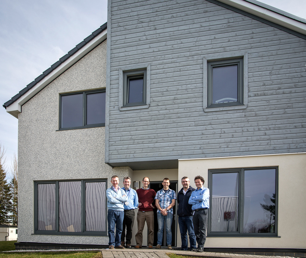 Sotland's First Affordable Low Carbon House