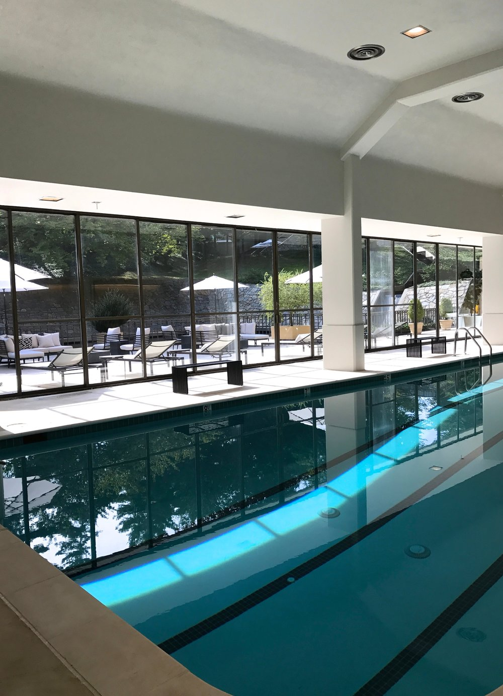Indoor Pool Renovation Project