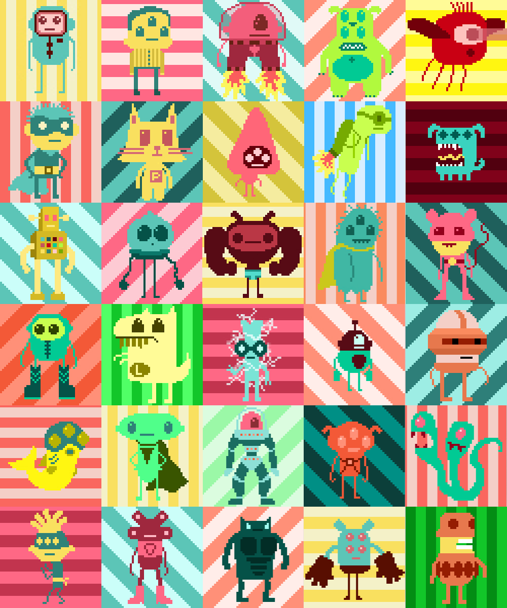 September 2013 Characters