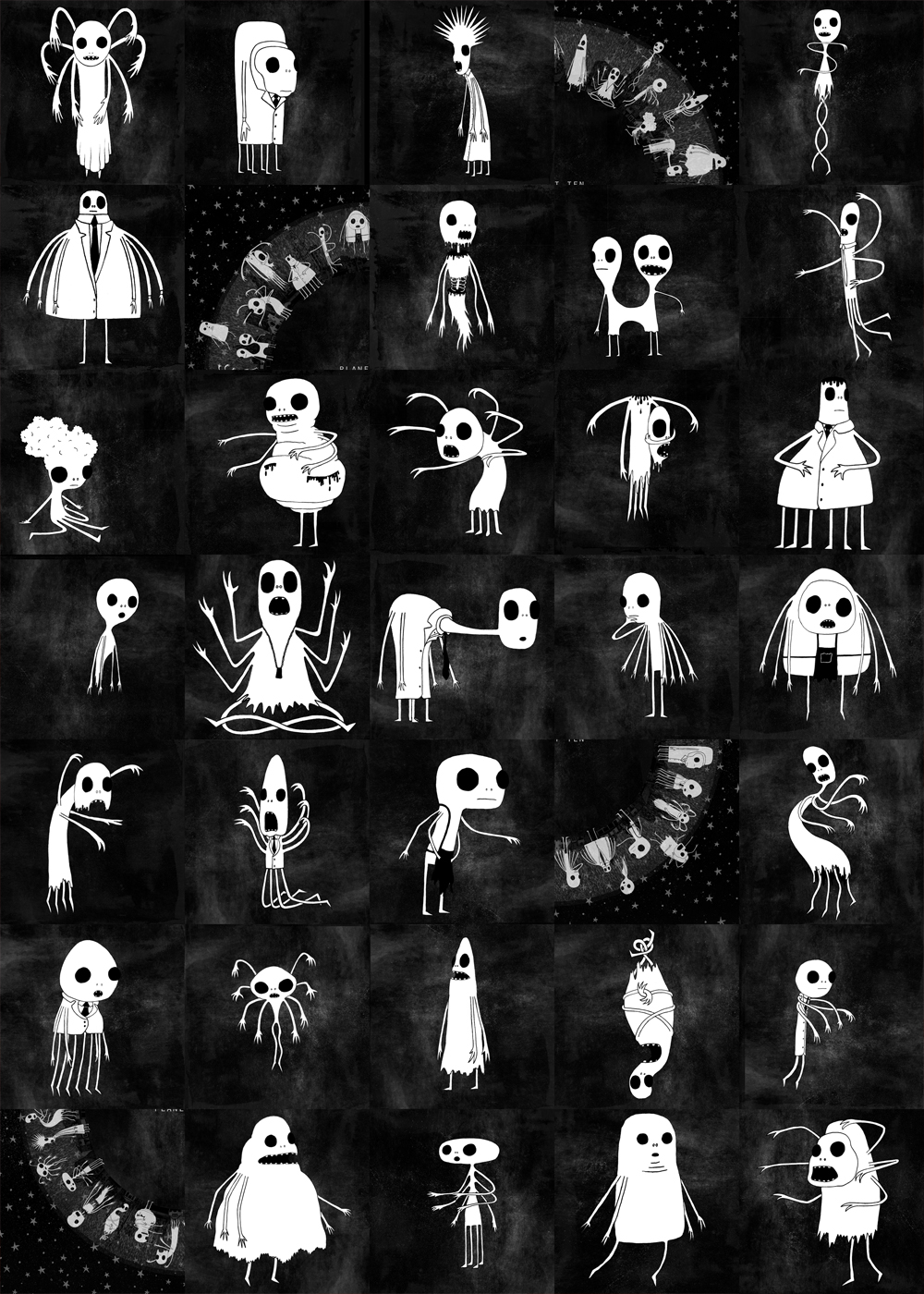 October 2013 Characters