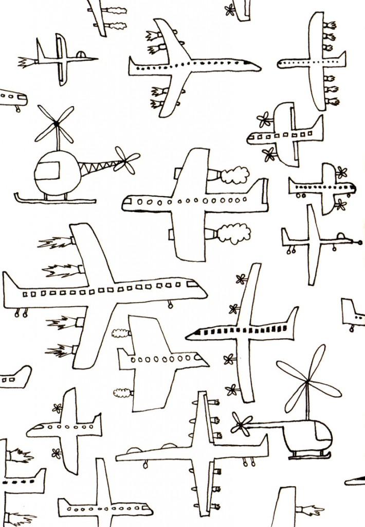 Sketchbook Airplanes