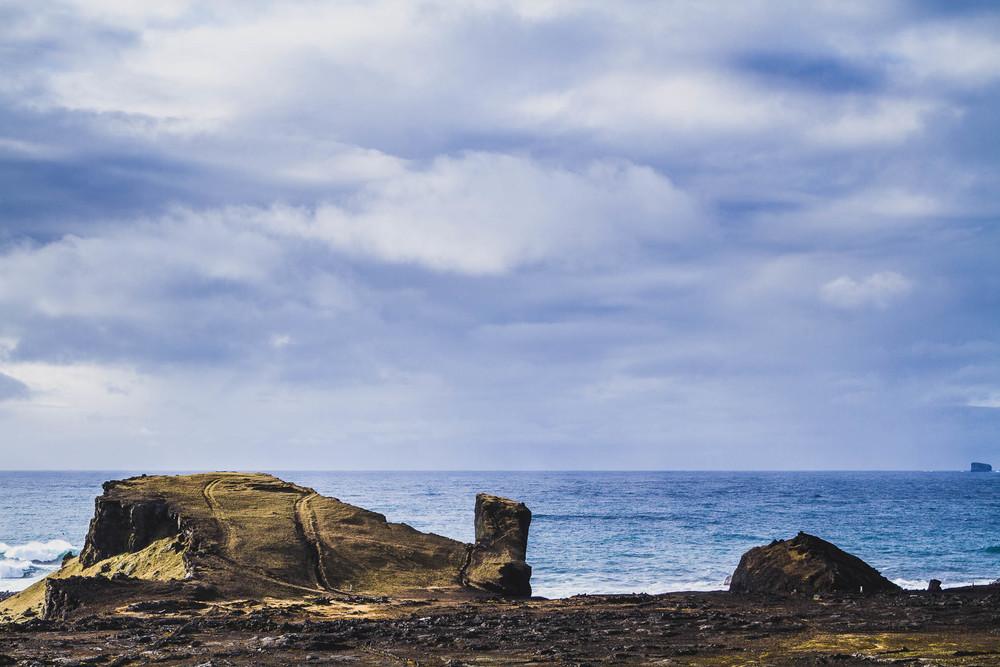 Reykjanes Peninsula cliff