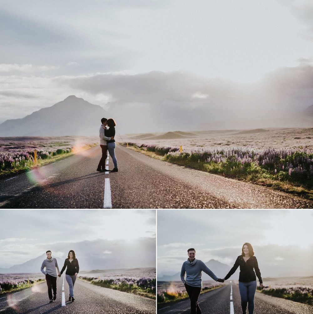 Iceland Engagement Photo Shoot