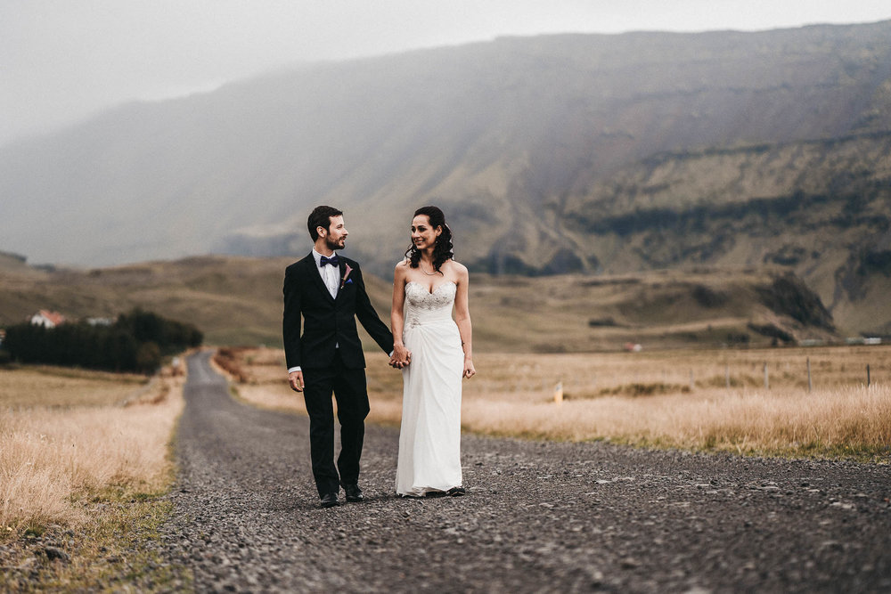 Iceland Landscape Wedding Photography