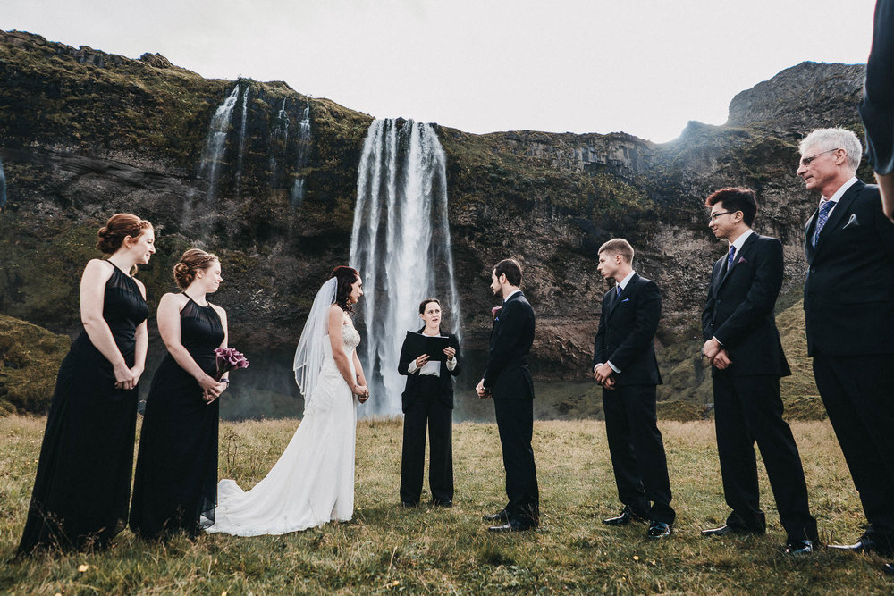 Seljalandsfoss Wedding Photography