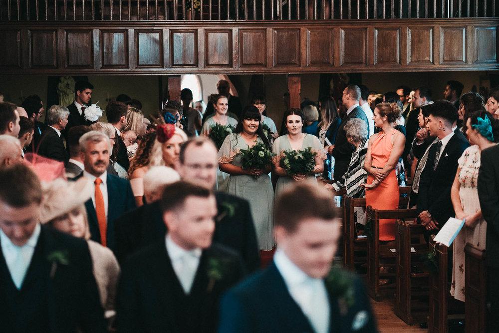 wedding-procession