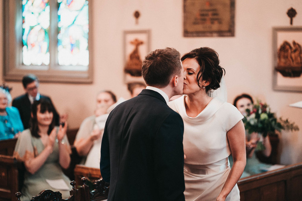 first-kiss-wedding-picture
