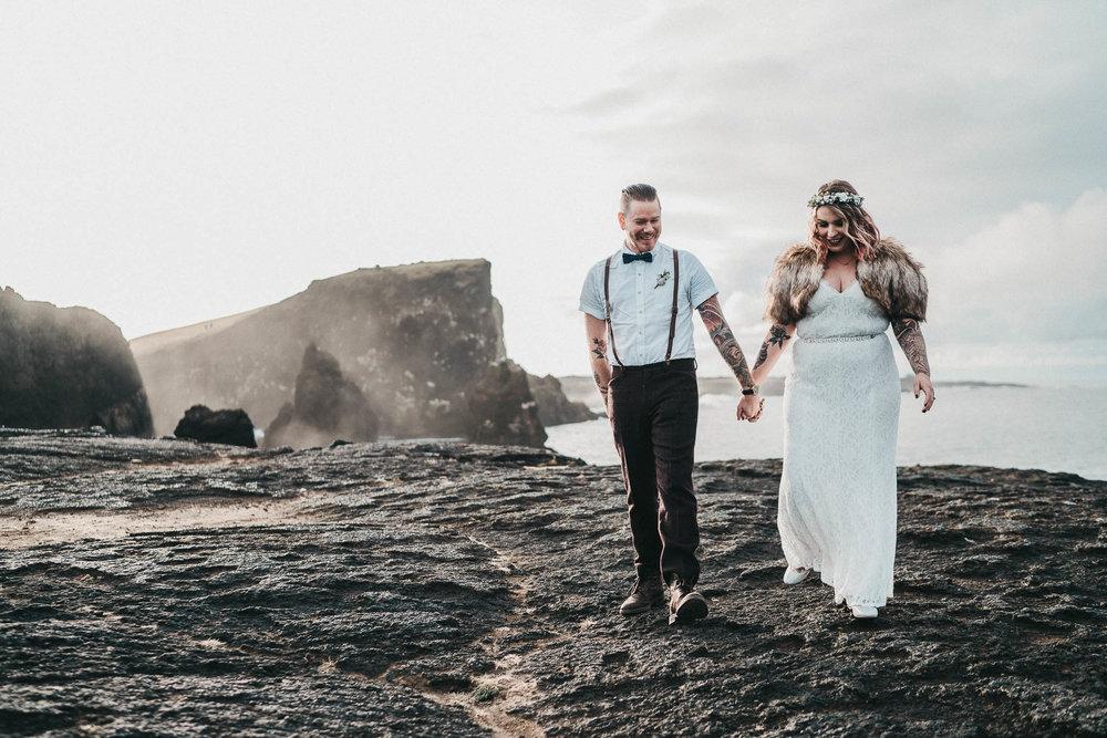 Valahnúkamöl-wedding