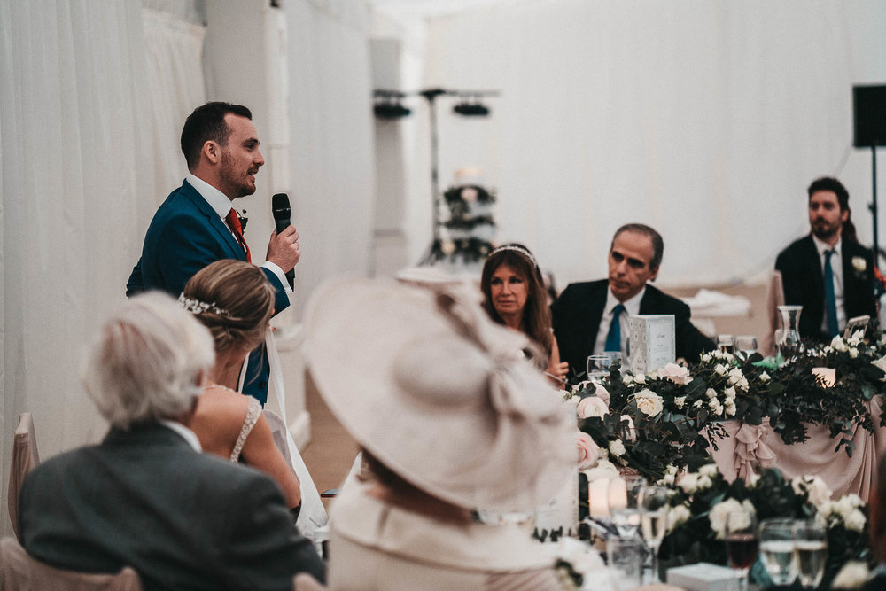groom-speech
