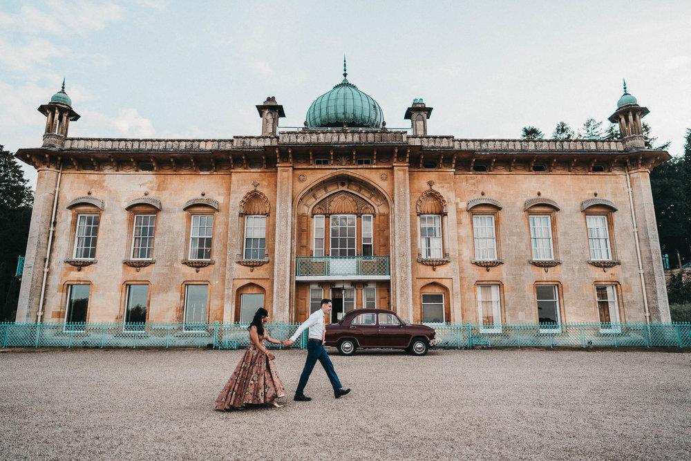 sezincote house, cotswolds wedding