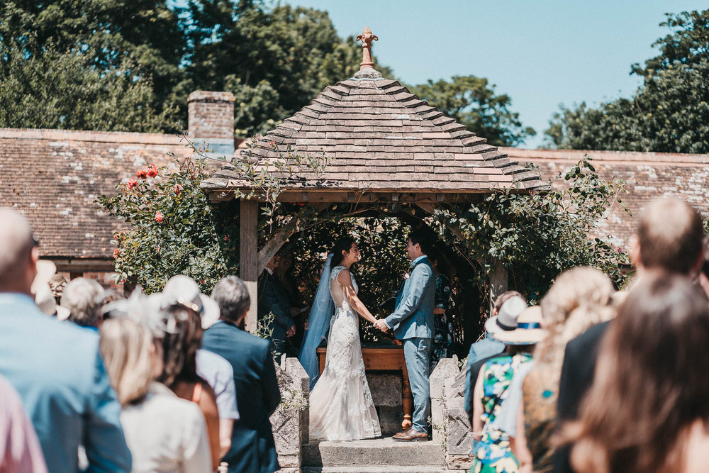dorset outdoor wedding