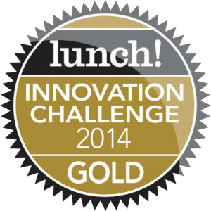 Oppo wins Gold in the Innovation Challenge at Lunch! 2014.