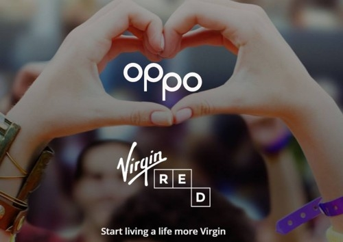 Virgin teams up with Oppo healthy ice cream.