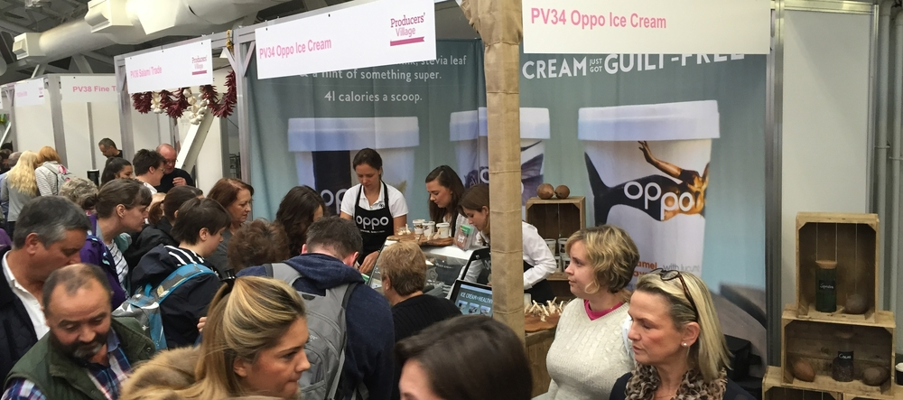 Busy Oppo stall at the BBC Good Food Show Winter 2015