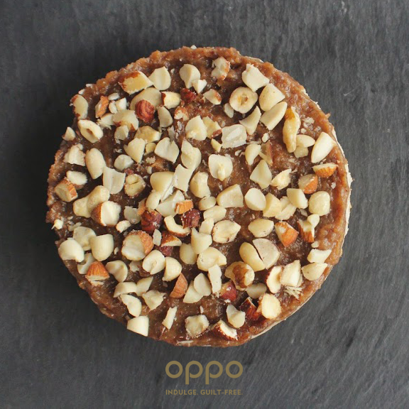 Oppo recipe: Not-So-Naughty Oppo ice cream healthy Banoffee Cheesecake