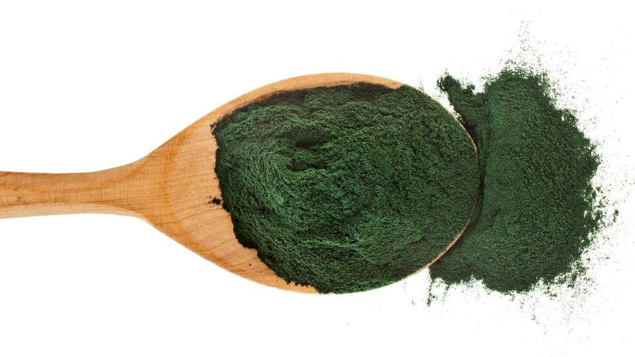 Spirulina used in Oppo's Mint Choc Swirl flavour