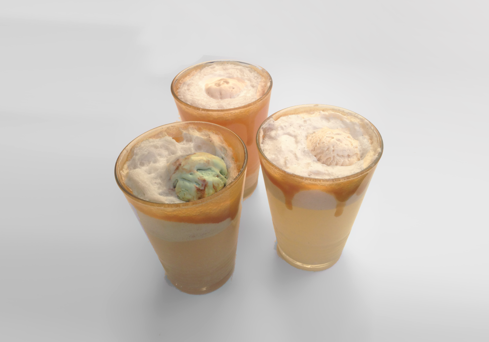 Oppo recipe: Healthy Kombucha Floats.