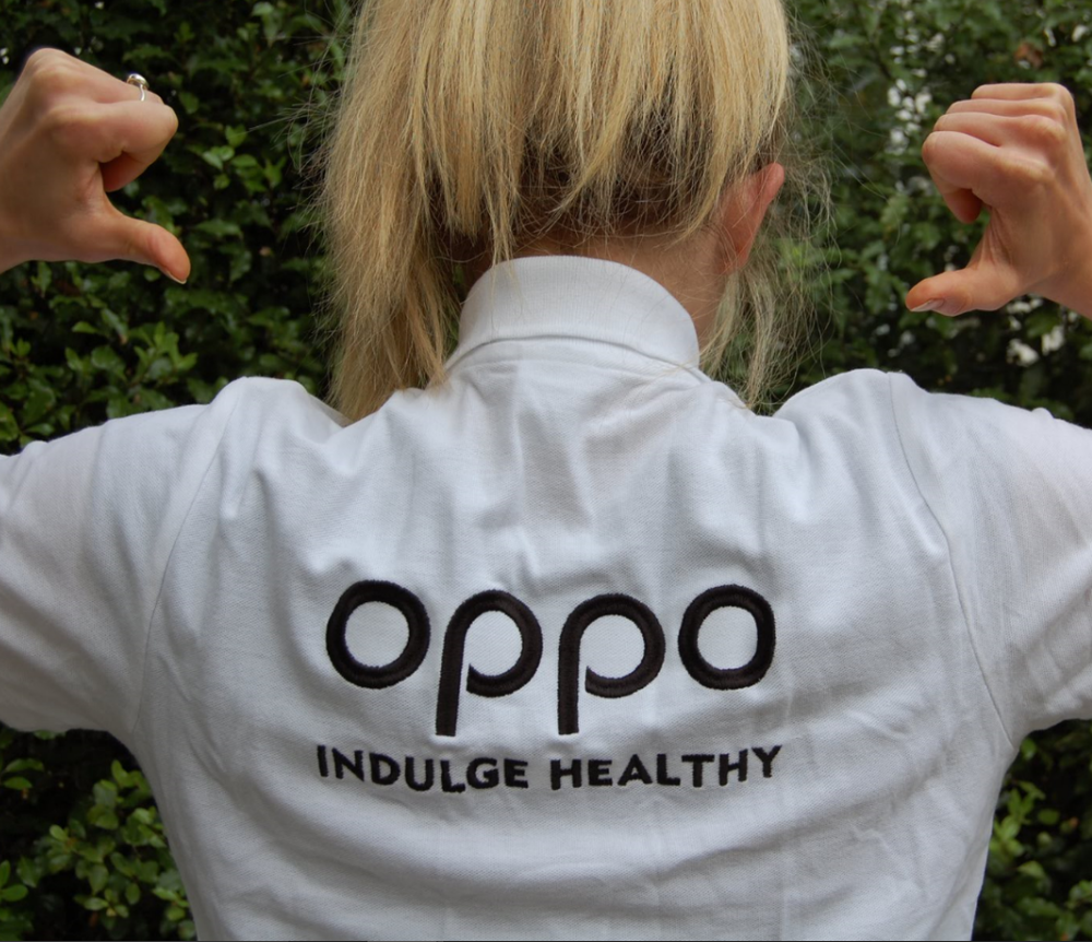 Oppo. Indulge Healthy.