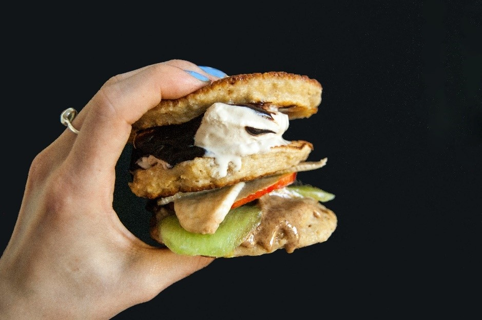 Oppo recipe: Oppo ice cream burger ready to eat!