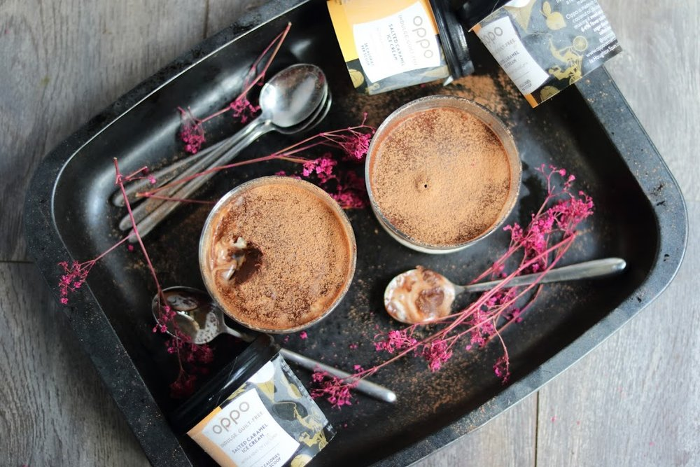 Oppo recipe: Salted Caramel Peanut Butter Millionaire Pot
