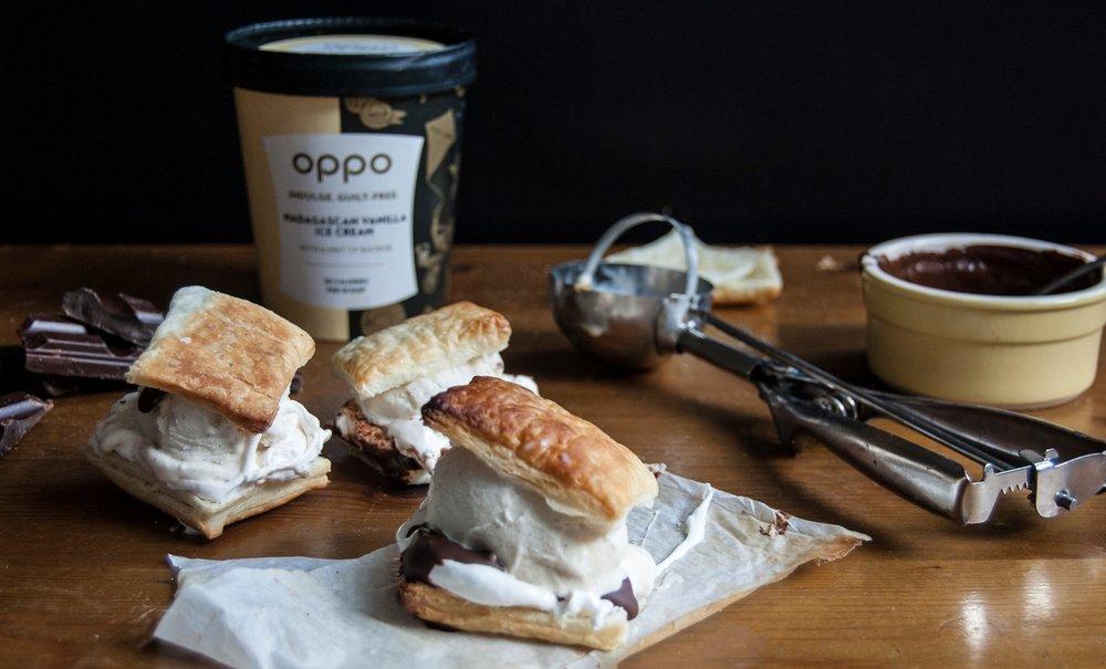 Pastry Oppo Sandwich