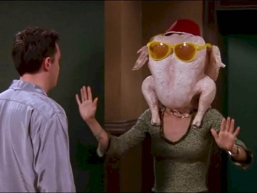 Friends Turkey Episode