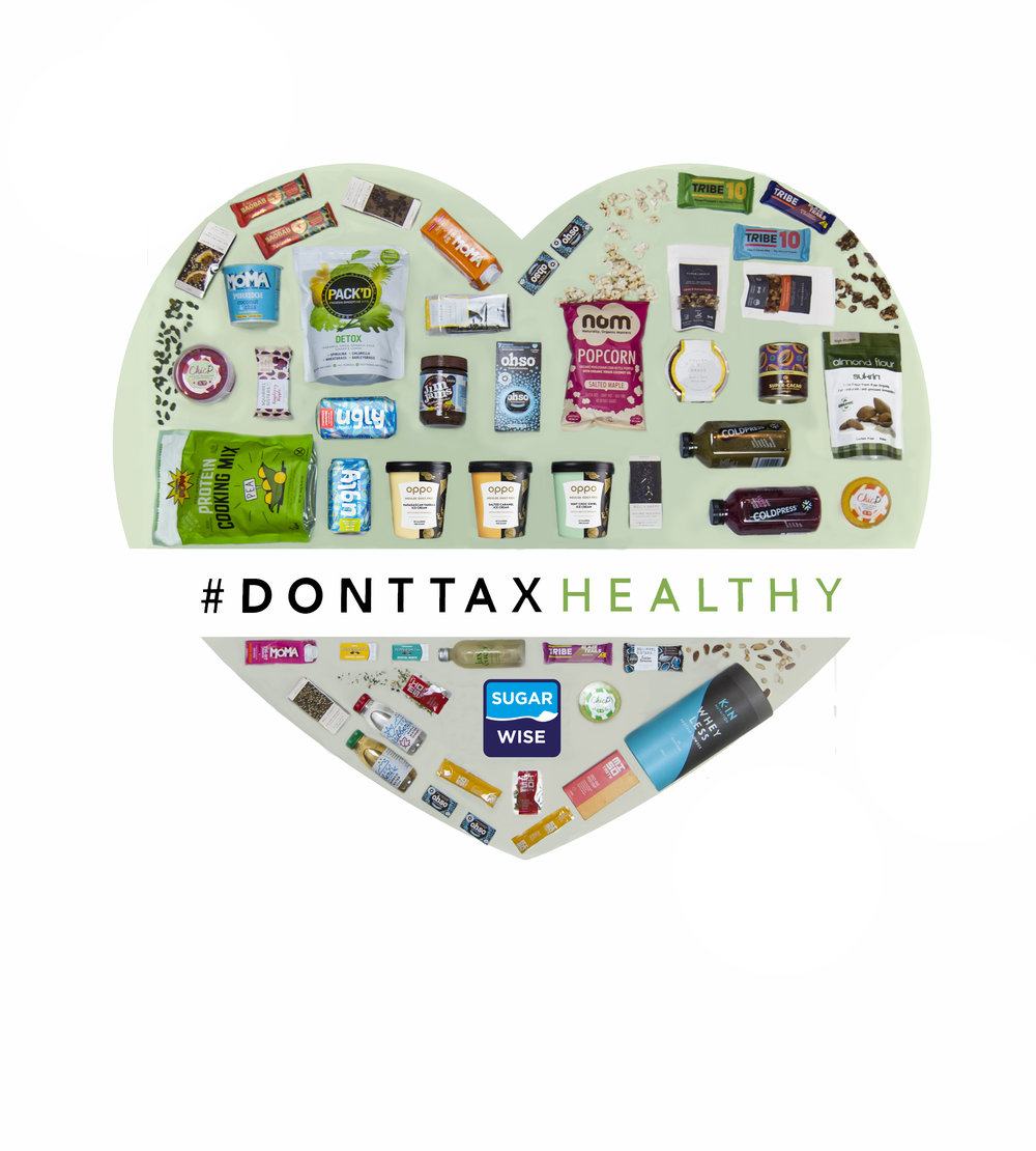 Don't Tax Healthy Campaign Image