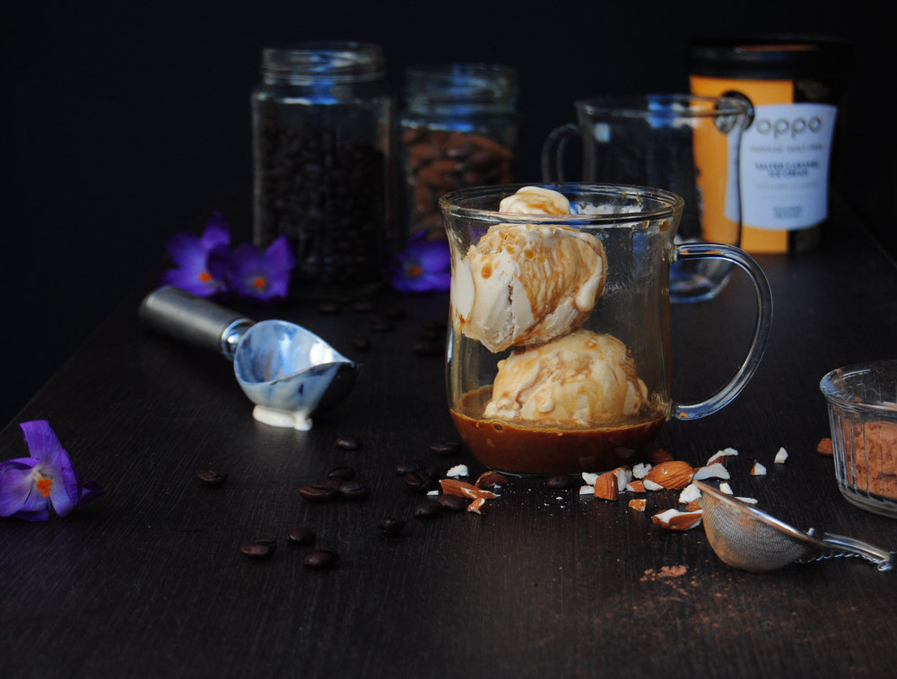 Salted Caramel Oppo Affogato