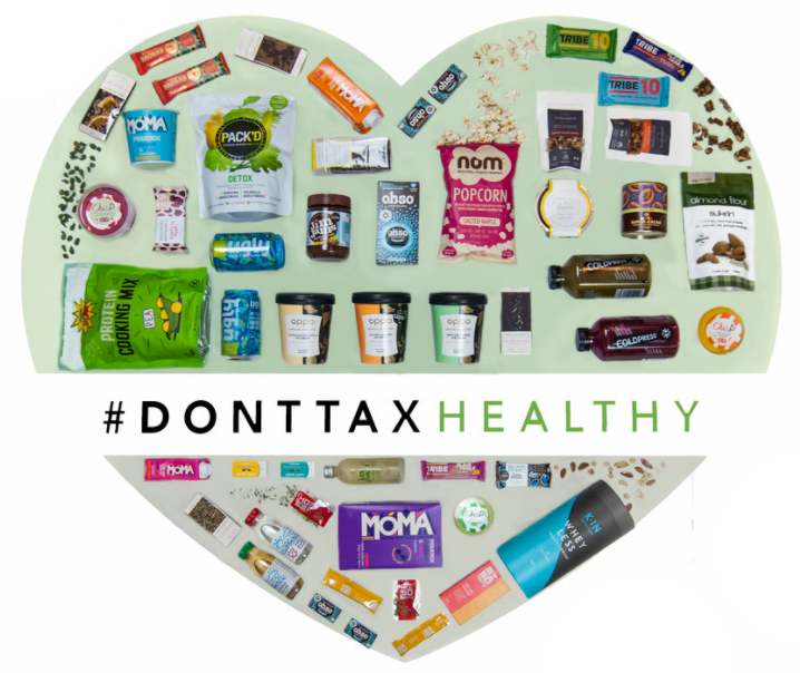 #DontTaxHealthy