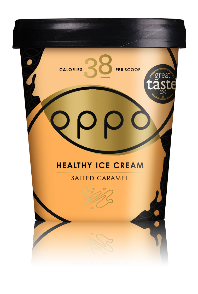Oppo Salted Caramel with a hint of Lucuma