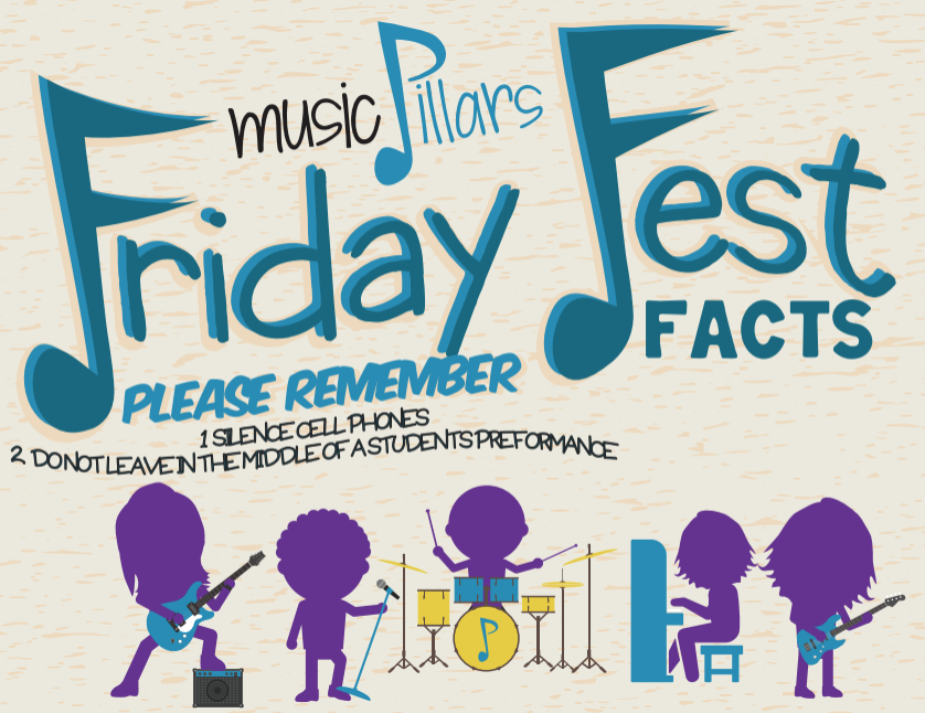 Performing in a Friday Fest early on is important!