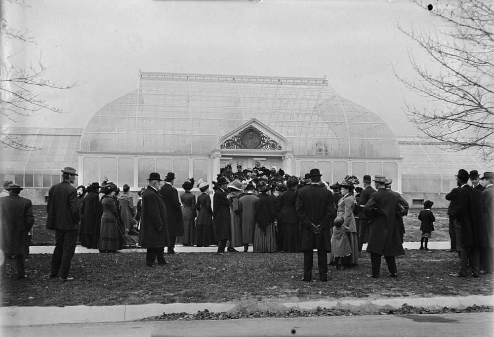 I found this image on the Lamberton Conservatory website. Look at all those fancy clothes!