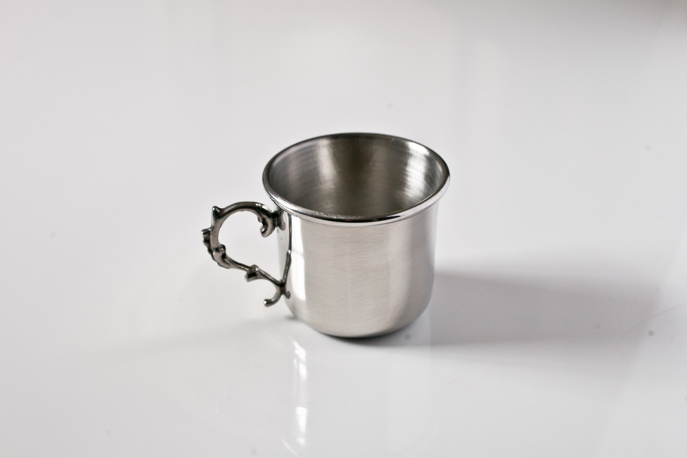 4a7ba08544129 Traditional Baby Cup with Handle — K   S Pewter