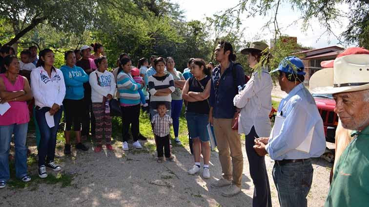 Reunión comunitario en La Palma