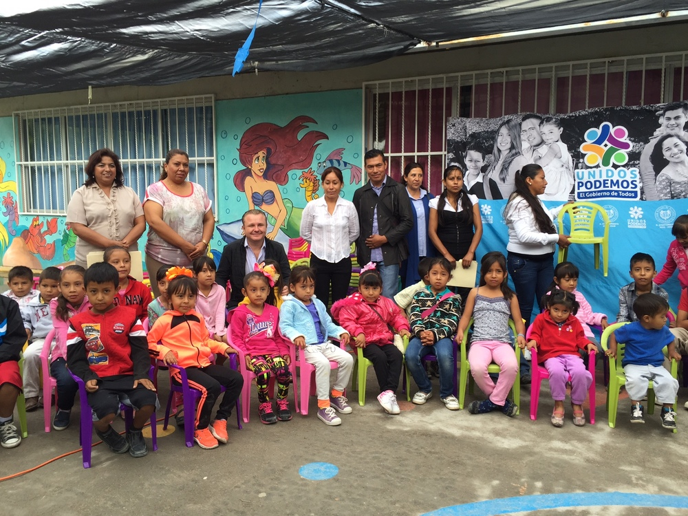 Coming soon ! The Community center in Don Diego will help these children