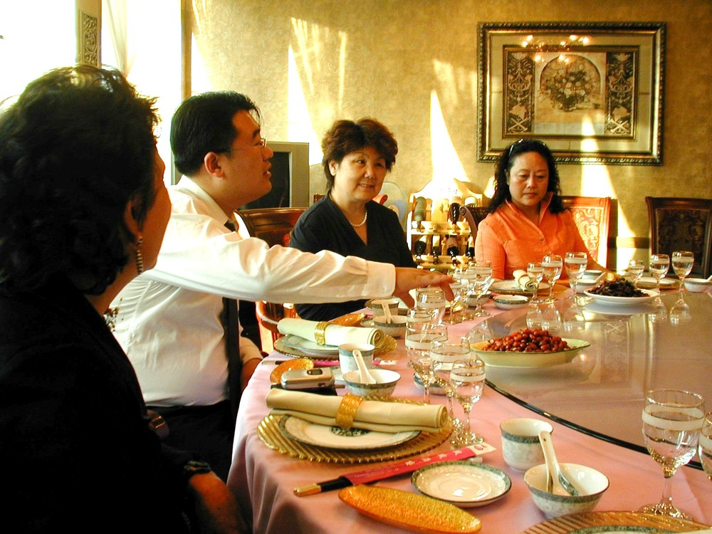 Banquet after workshop in Qingdao