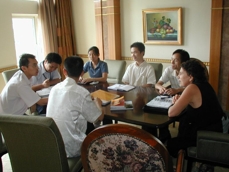 Susan working with Shanghai business team.jpg