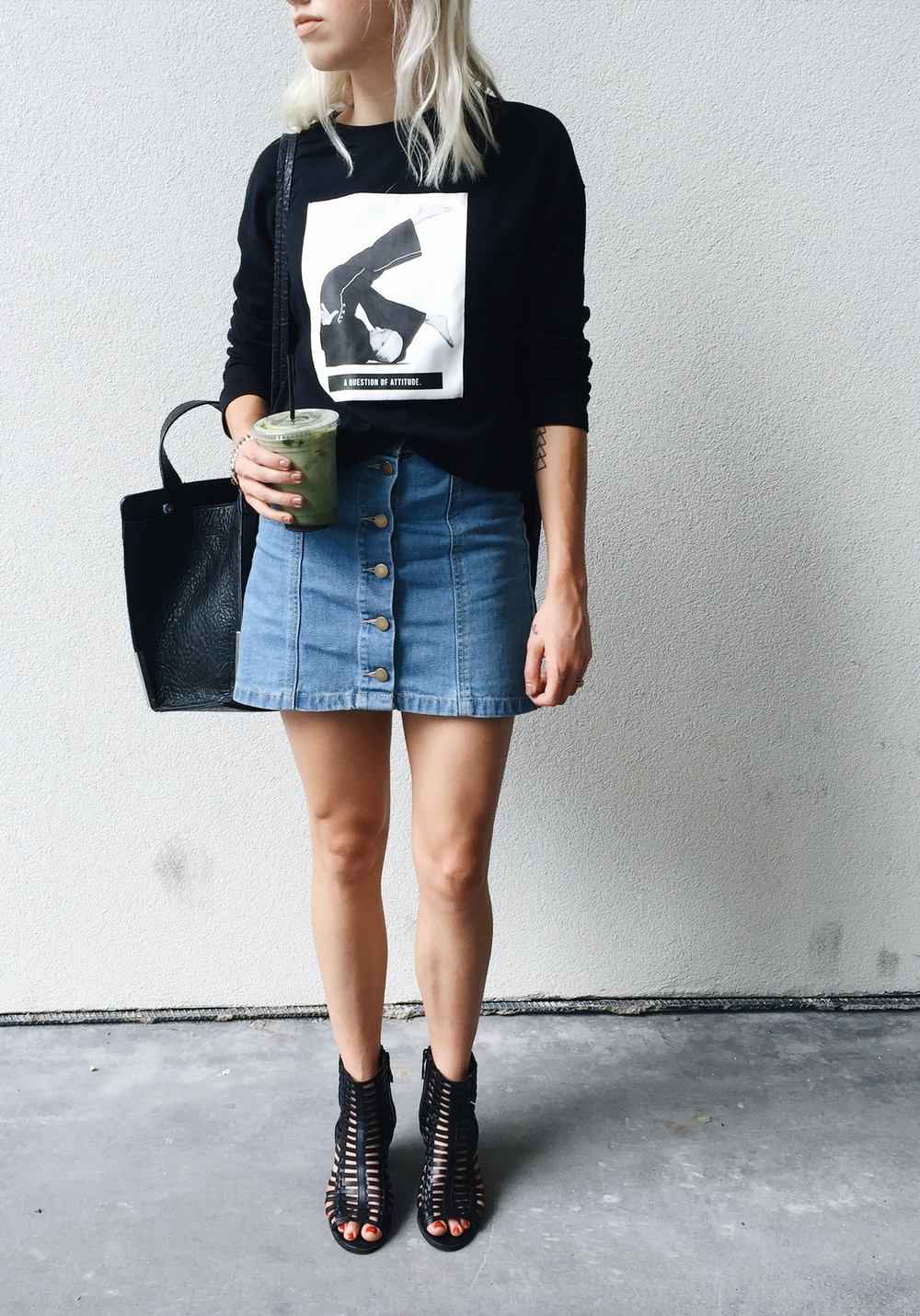SKIRT / TOP / SHOES / BAG (on sale!)