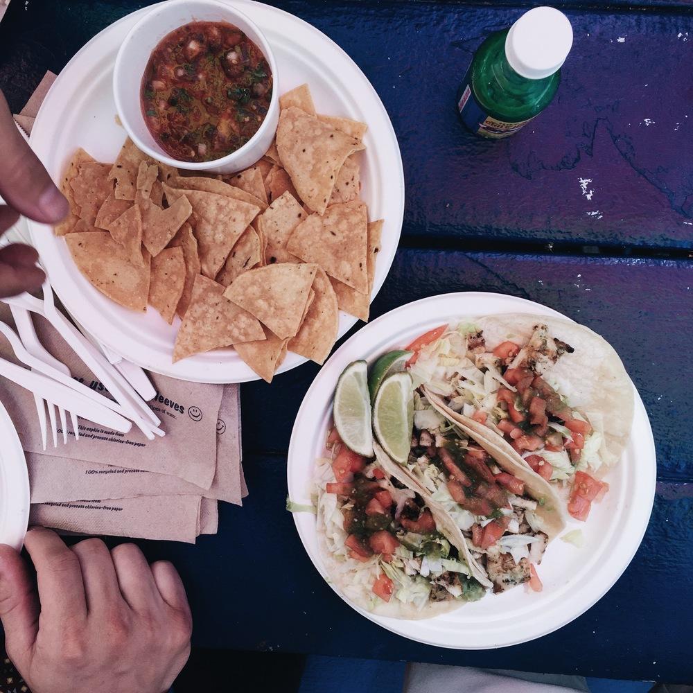Brooklyn has good tacos but Austin has better...